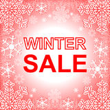 Winter Sale. Stock Image
