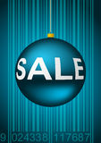 Winter sale illustration Royalty Free Stock Photography