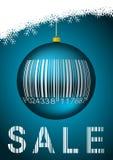Winter sale illustration Royalty Free Stock Photos
