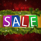 Winter Sale Notice Royalty Free Stock Photo