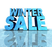 Winter Sale Sign Royalty Free Stock Photos