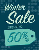 Winter sale Royalty Free Stock Images