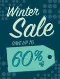 Winter sale Stock Photo