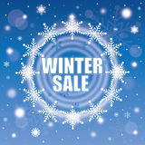 Winter sale Royalty Free Stock Photography