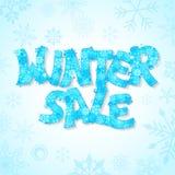 Winter Sale royalty free illustration