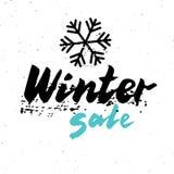 Winter sale Stock Image