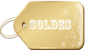 Winter sales Royalty Free Stock Photography