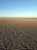 Winter sandbar Royalty Free Stock Images