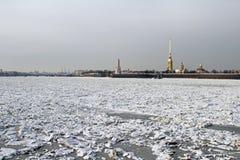 Winter Sant Petersburg, Russland Lizenzfreie Stockbilder