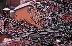 Winter in Sarajevo, Bosnien und Herzegowina Stockfotos