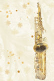 Winter Sax Stock Photography