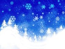 Winter scene Stock Photos