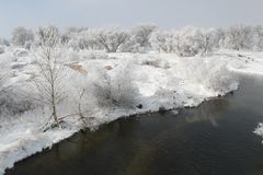 Winter Scene 7846A Royalty Free Stock Photo
