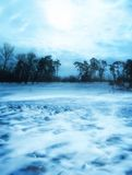 Winter Scene Stock Photography