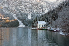 Winter Scene, Austria Royalty Free Stock Photos