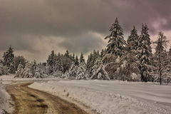 Winter scene, Bulgaria Stock Photography