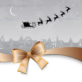 Winter scene - christmas card Royalty Free Stock Photos