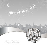 Winter scene - christmas card Royalty Free Stock Images