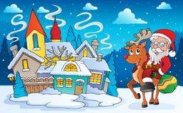 Winter scene with Christmas theme 5 Stock Photo