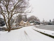 Winter Scene, Melbourne, Derbyshire Stock Photography