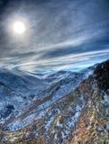 Winter scene from national park Pelister Stock Images