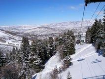 Winter scene from ski Stock Photography