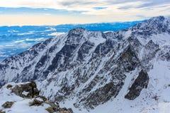 Winter scene in Slovakia Stock Image