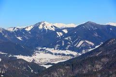 Winter scene in Slovakia Stock Photos