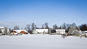 Winter scenery Royalty Free Stock Photo