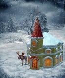 Winter scenery 22 vector illustration