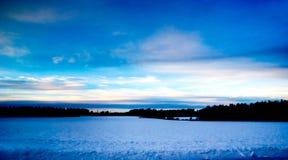 Winter scenery Royalty Free Stock Image