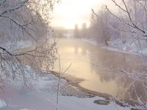 Winter scenery Royalty Free Stock Photos