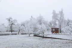 The winter scenery Stock Photos