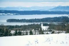 Winter scenery Bavaria Germany Royalty Free Stock Image