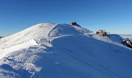 Winter scenery , Kasprowy Wierch is  mountain in Tatras Stock Photos
