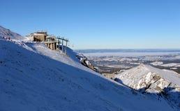 Winter scenery , Kasprowy Wierch is  mountain in Tatras Stock Image