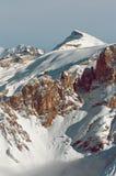 Winter scenery, Meribel, France Royalty Free Stock Images