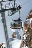 Winter scenery, Meribel, France royalty free stock photos