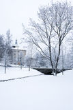 Winter scenery from Oulu Finland Royalty Free Stock Photography