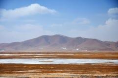 Winter Scenery in Qinghai-Tibet Plateau Stock Image