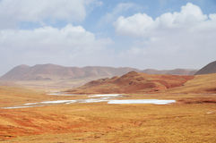 Winter Scenery in Qinghai-Tibet Plateau Royalty Free Stock Images