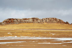 Winter Scenery in Qinghai-Tibet Plateau Royalty Free Stock Image