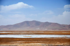 Winter Scenery in Qinghai-Tibet Plateau Stock Image