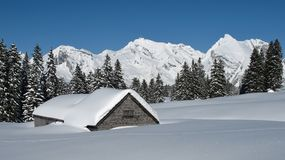 Winter scenery in Toggenburg Stock Photography