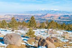 Winter scenery Stock Photography