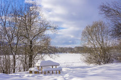 Winter scenery. Royalty Free Stock Images