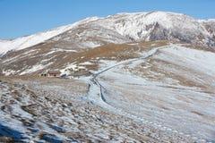 Winter scenery of Wutaishan Royalty Free Stock Photos