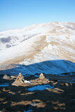 Winter scenery of Wutaishan Royalty Free Stock Photo