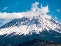 Winter scenic of Mount Fuji Royalty Free Stock Photos
