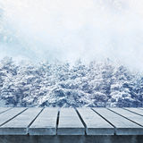 Winter scenic Stock Photos